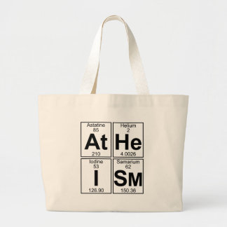 At-He-I-Sm (atheism) - Full Tote Bags