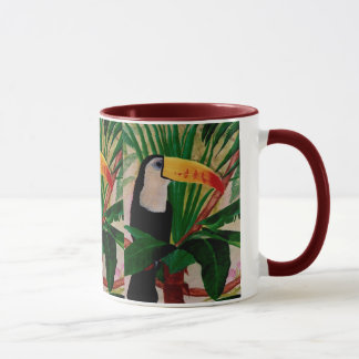 At Home in the Jungle Toucan Wildlife Coffee Mug