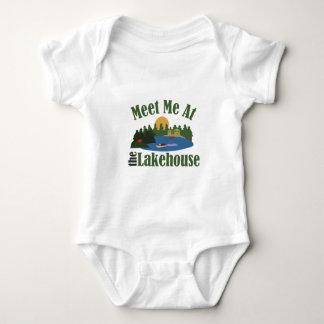 At Lake House Baby Bodysuit