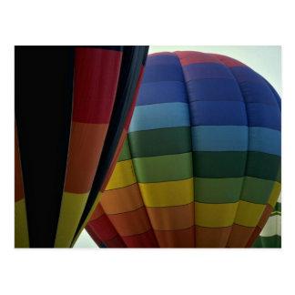 At large Air Baloons Post Card