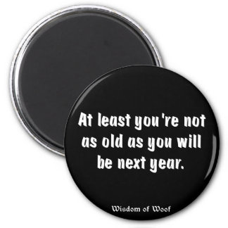At Least You're Not As Old As You Will Be ... Magnets