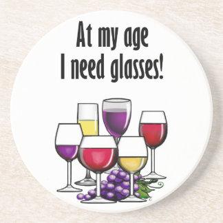 At My Age I Need Glasses! Coaster