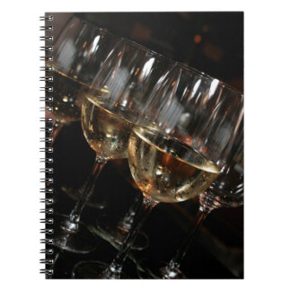 At my age I need wine glasses Spiral Notebook