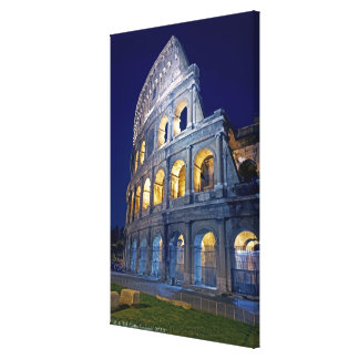 at night side canvas print