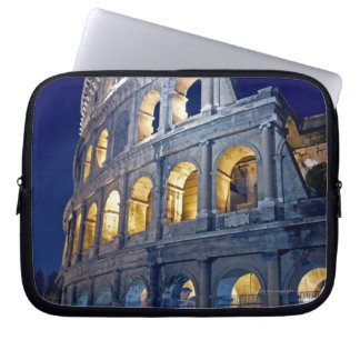 at night side laptop sleeve
