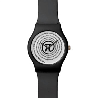 At Pi Sign, Spiral Watch