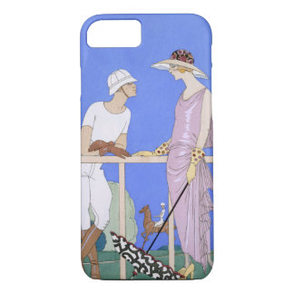 At Polo, 1920-29 (pochoir ) iPhone 8/7 Case
