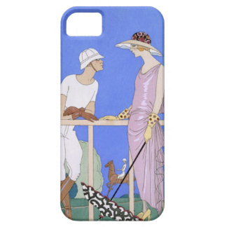 At Polo, 1920-29 (pochoir print) iPhone 5 Covers