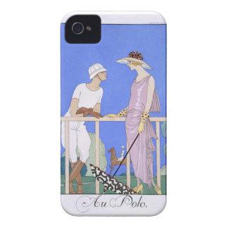 At Polo, 1920-29 (pochoir print) Case-Mate iPhone 4 Case