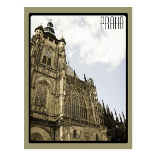 At Prague Castle Postcard