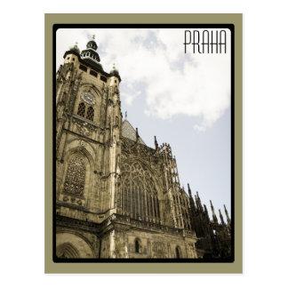 At Prague Castle Postcard