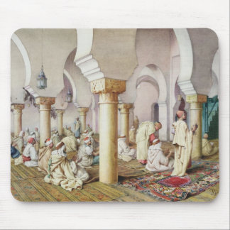 At Prayer in the Mosque, 1884 Mouse Mat