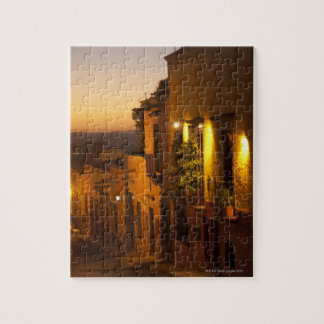 At sunset. jigsaw puzzle