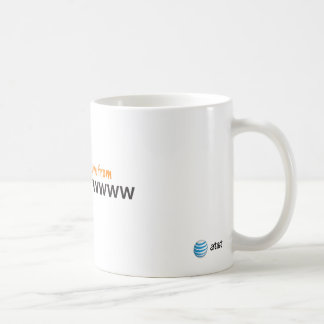 AT&T kiss me mug