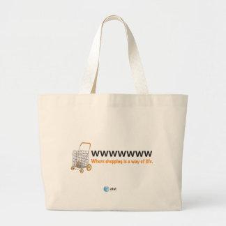 AT&T shopping bag