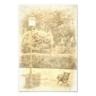 At that time in the park art photo