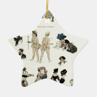 At the Bal Tabarin Christmas Ornament