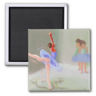 At the Ballet Square Magnet