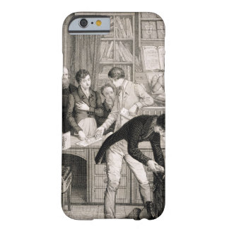 At the Bank, c.1800 (engraving) Barely There iPhone 6 Case