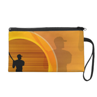 At the Bat Wristlet