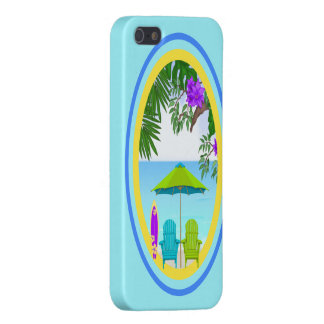 At The Beach Case Savvy iPhone 5 Cover For iPhone 5