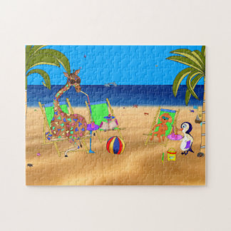 At The Beach Jigsaw Puzzle