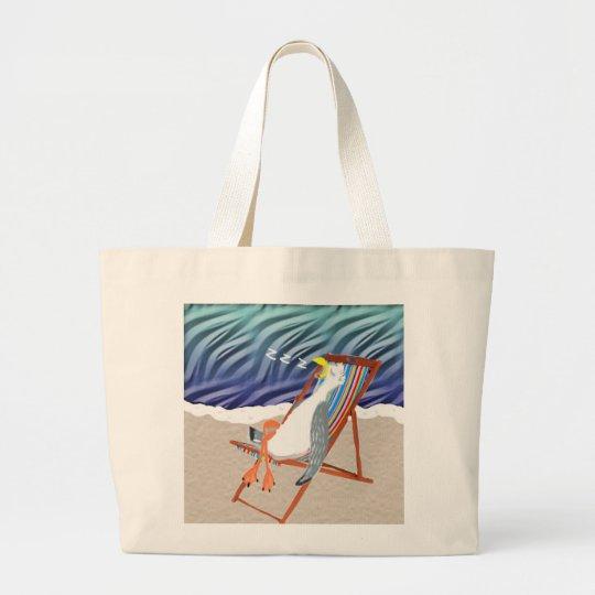 At The Beach Large Tote Bag