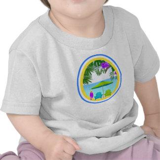At The Beach T Shirts