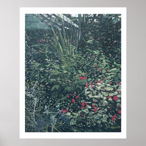 At the Botanical Gardens Print