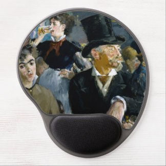 At the Cafe by Edouard Manet Gel Mouse Pad