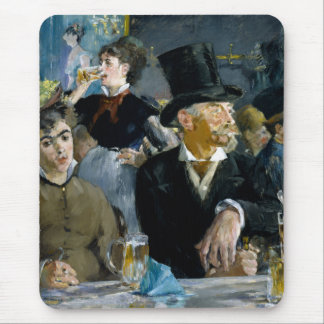 At the Cafe by Edouard Manet Mousepad