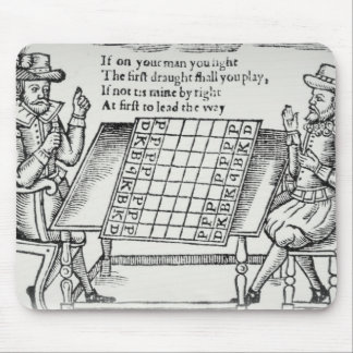 At the Chess Board Mouse Mat