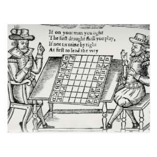 At the Chess Board Postcard