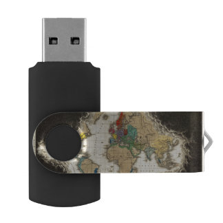At The Death of Charles V 1551 Swivel USB 2.0 Flash Drive