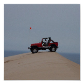 At the Dunes Poster