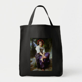 At the Edge of the Brook ~ Bouguereau Bag