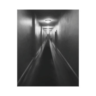 At the End of the Hallway Canvas Canvas Print