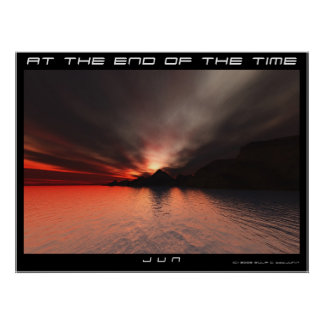 AT THE END OF THE TIME PRINT