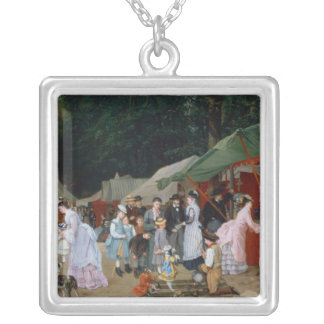 At The Fair,1877 Silver Plated Necklace