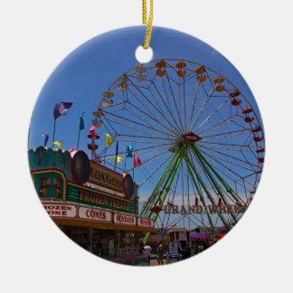At the Fair Christmas Ornament