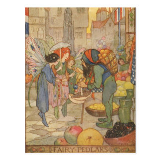 At the Fairy Market, Postcard