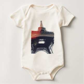 At the feet of Tour Eiffel Baby Bodysuit