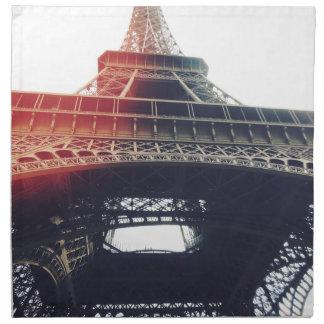 At the feet of Tour Eiffel Napkin
