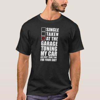 At the garage Tuning my Car T-Shirt