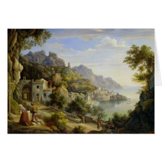 At the Gulf of Salerno, 1826 Card