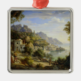 At the Gulf of Salerno, 1826 Christmas Ornament