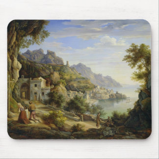 At the Gulf of Salerno, 1826 Mouse Mat