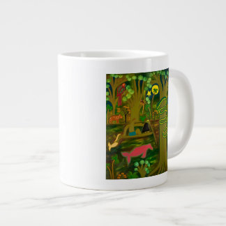 At the Heart of the Amazon River 2010 Large Coffee Mug