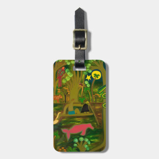 At the Heart of the Amazon River 2010 Luggage Tag
