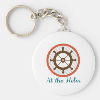 At The Helm Keychain